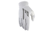 Fly Racing Lite Pro Gants longs gris/blanc